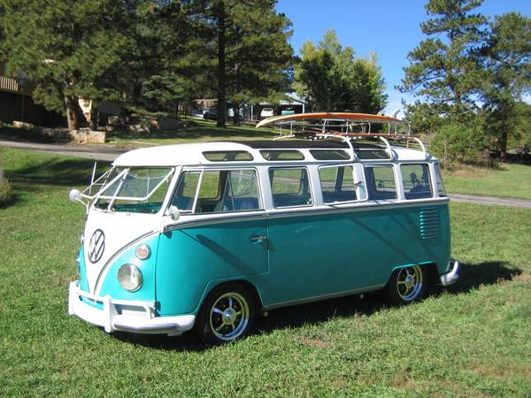 1963 VW 23 window Samba Bus