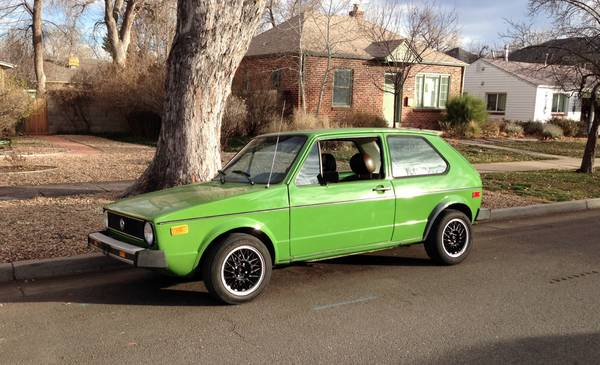 1977 volkswagen rabbit for sale