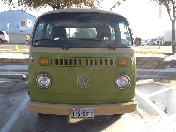 1979 restored volkswagen bus