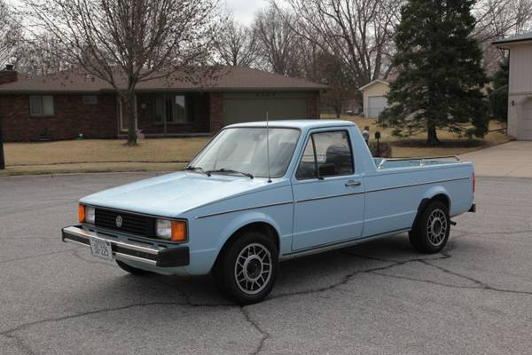 1981 volkswagen rabbit pickup truck
