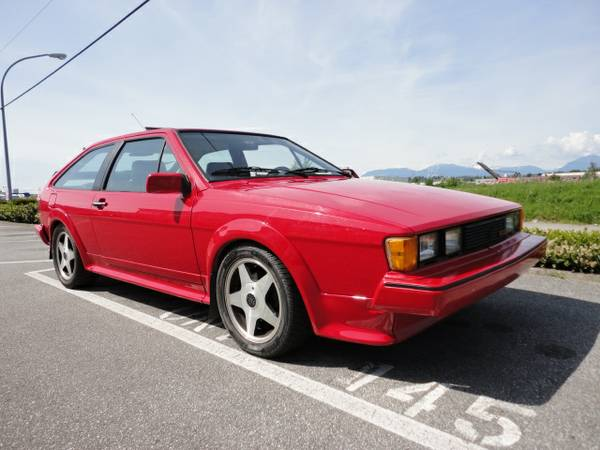 1987 VW Scirocco 16V for sale