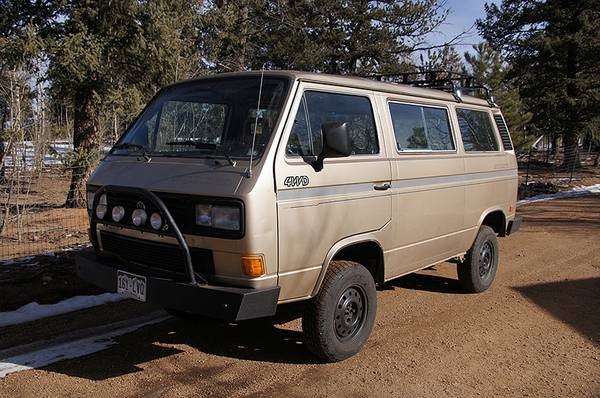 1987 VW Syncro Van for Sale