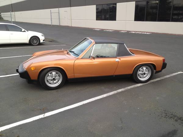 for sale pristine 1975 porsche 914 2 0 buy classic volks. Black Bedroom Furniture Sets. Home Design Ideas