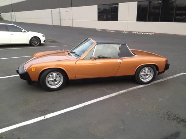 For Sale Pristine 1975 Porsche 914