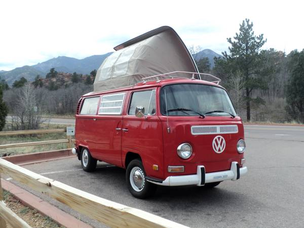 VW Bus Dormobile Camper