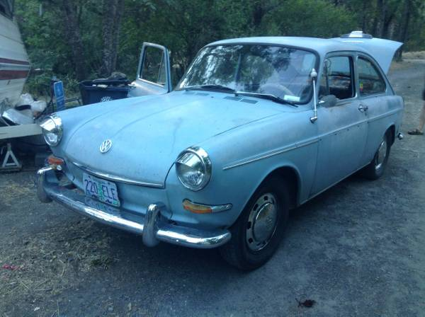 1967 Volkswagen fastback for Sale