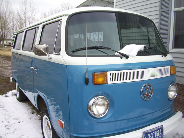 1973 Vw Transporter Bus For Sale Buy Classic Volks