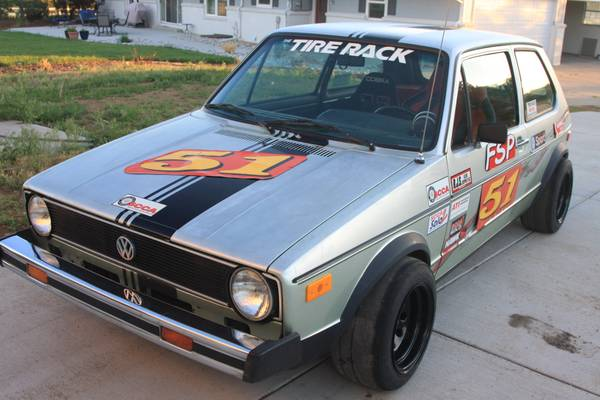 1977 vw rabbit race car buy classic volks. Black Bedroom Furniture Sets. Home Design Ideas
