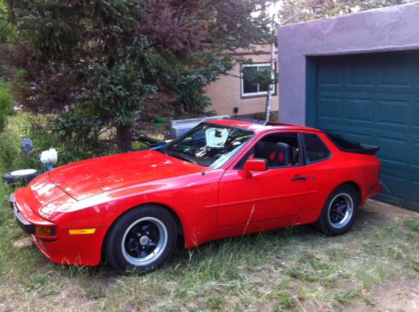 1984 porsche 944 low miles buy classic volks. Black Bedroom Furniture Sets. Home Design Ideas