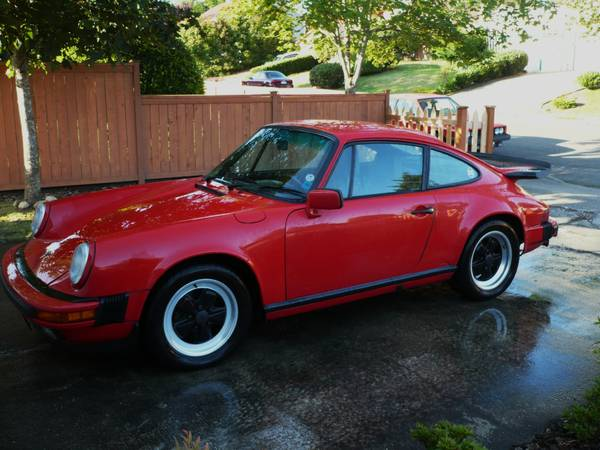 For sale Porsche 911 Carrera 1988