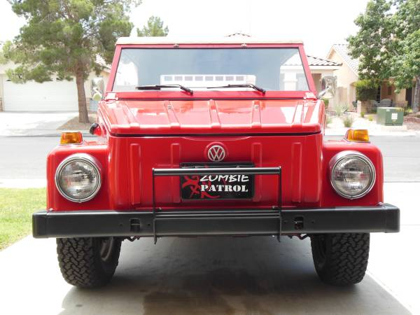Restored red 1973 VW Thing for Sale