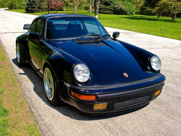 1987 Porsche 911 Air Cooled Turbo