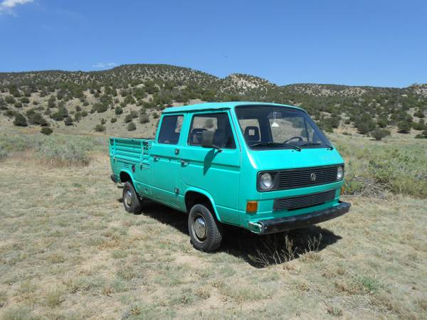 1987 VW Doka 3 door Crew Cab Pickup