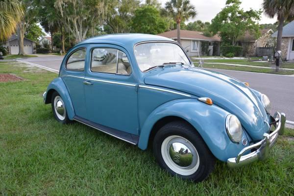 1963 Volkwagen Beetle Blue