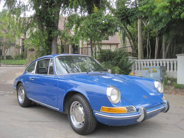 1969 Blue Porsche 912 for sale