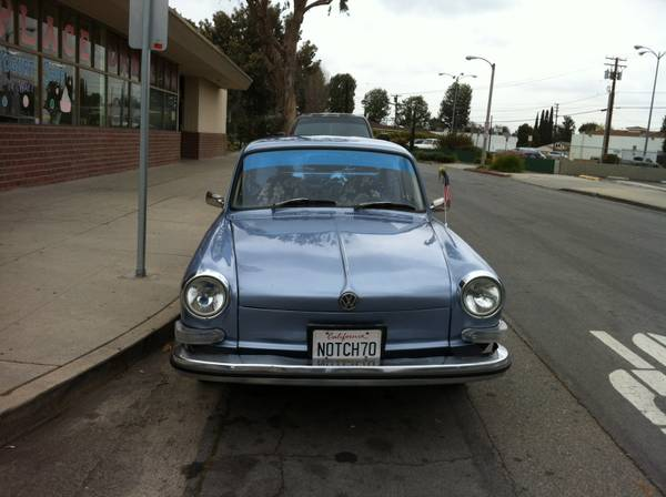 1970 VW Notchback for sale