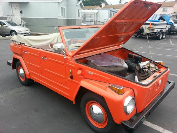 1974 vw thing type 181 for sale