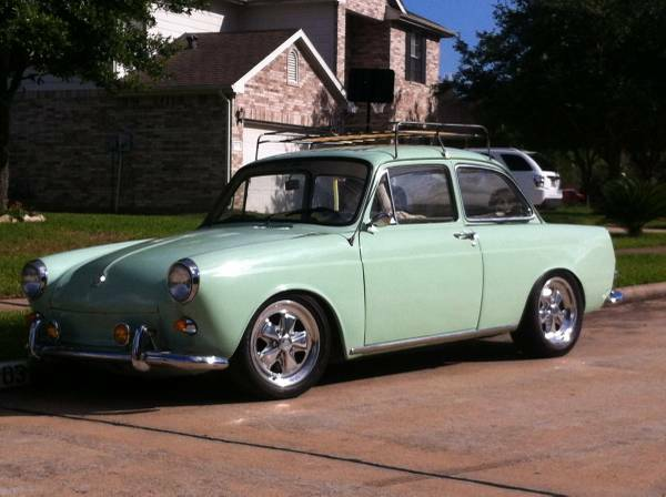 rare 1963 Volkswagen Notchback for sale