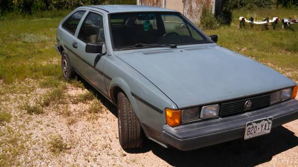 1983 Volkswagen Scirocco MKII for sale