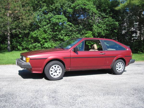 1985 Volkswagen Scirocco for Sale