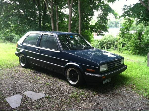 1989 VW Golf for sale