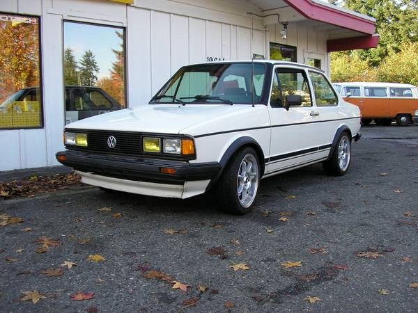 1984 VW Jetta Coupe G60 for sale