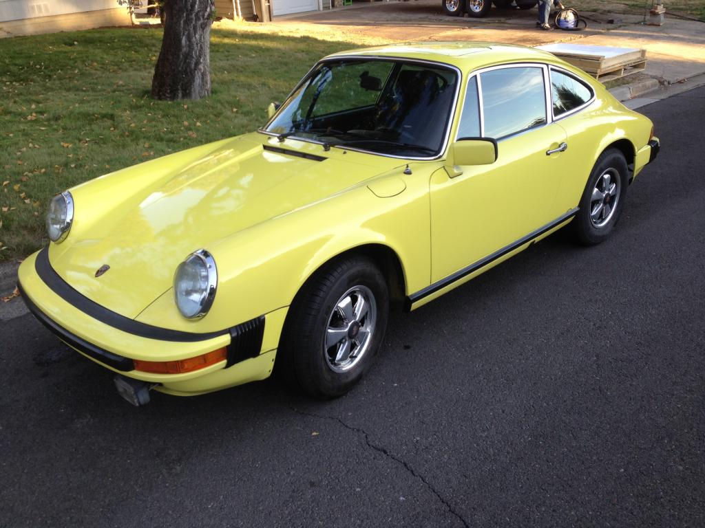 1976 Porsche 912E Meticulously Maintained