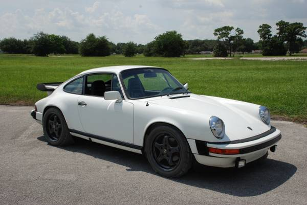 1980 Porsche 911SC White Coupe