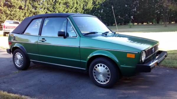 1981 VW Rabbit convertible for sale