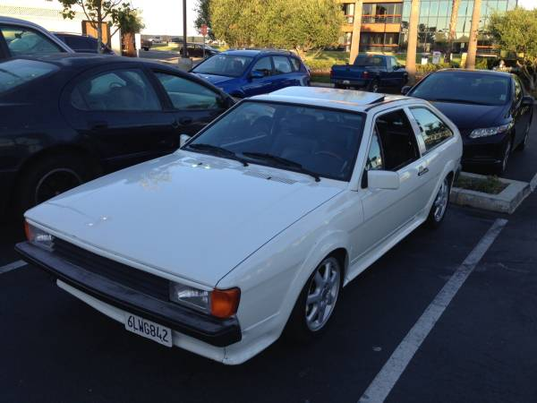 1987 Volkswagen Scirocco 16V for Sale