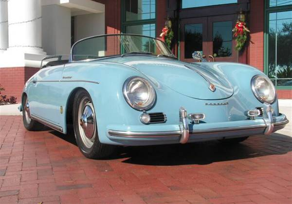Beautiful 1957 Porsche Speedster