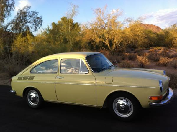 Original 1971 VW Fastback