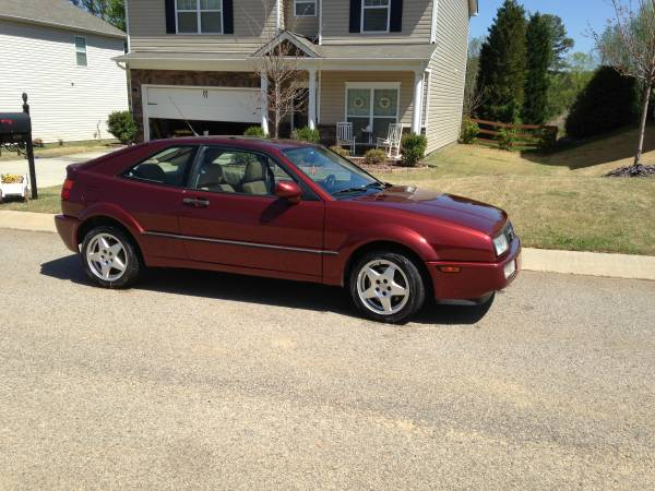 Rare Color 1994 VW VR6 Corrado