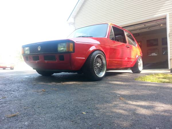 for sale clean vw rabbit mk1 1984