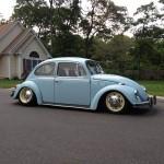 Slammed 1968 VW Beetle