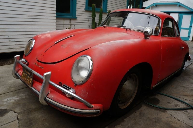 1958 Porsche 356 A Coupe California Car