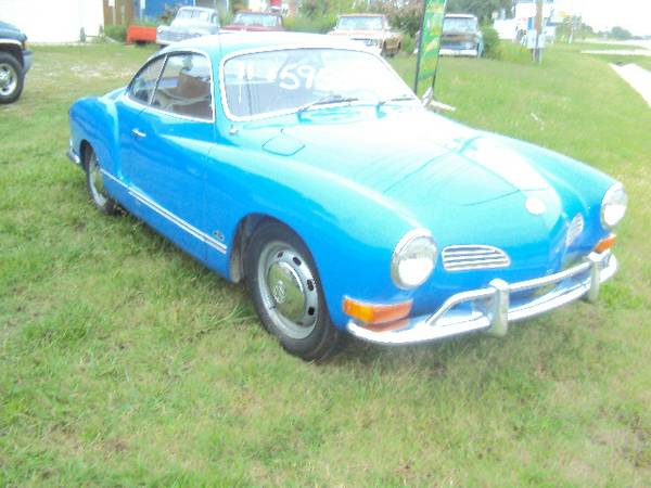 1972 VW Ghia Coupe for Sale