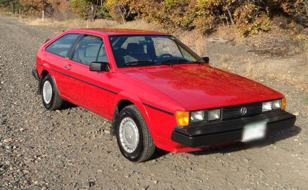 1987 VW Scirocco MKII