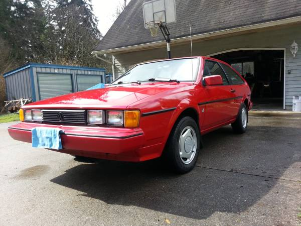 Low Miles 1985 VW Scirocco for Sale