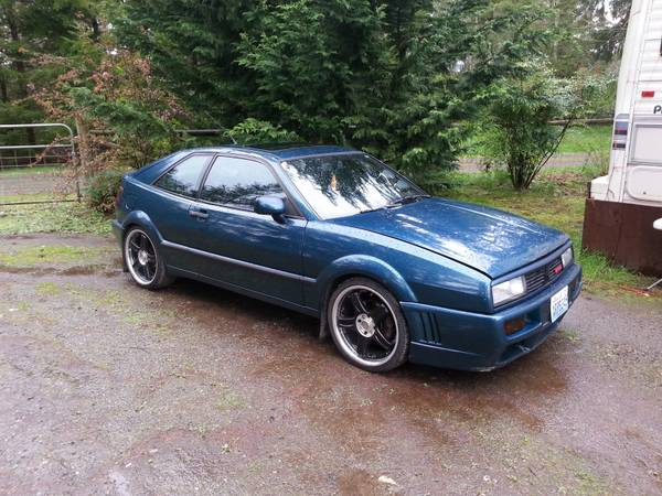 Supercharged VW Corrado 1990
