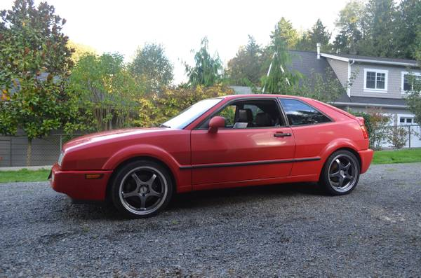 To Another Enthusiast 1992 VW Corrado SLC