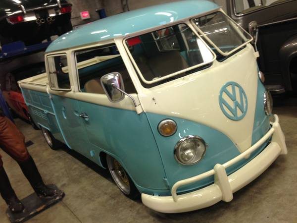 1967 VW Bus Double Cab Porsche Engine