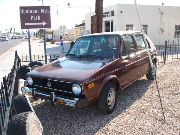 1979 VW Rabbit Diesel 5-Door Hatchback