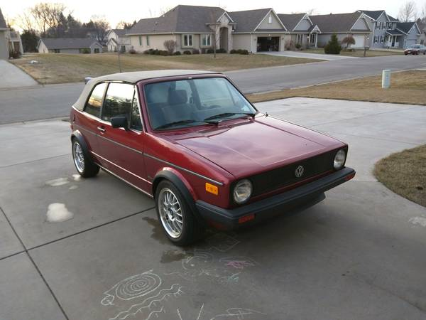 1987 VW Cabriolet for Sale