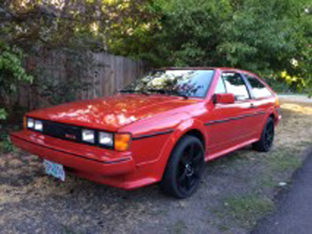 For Sale, Rare 1986 VW Scirocco 16v