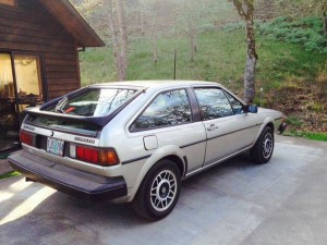 1985 VW Scirocco Sport Car