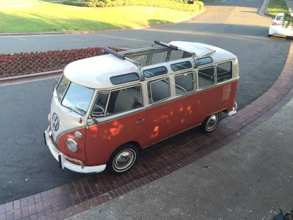 original 1965 VW 21 window deluxe bus