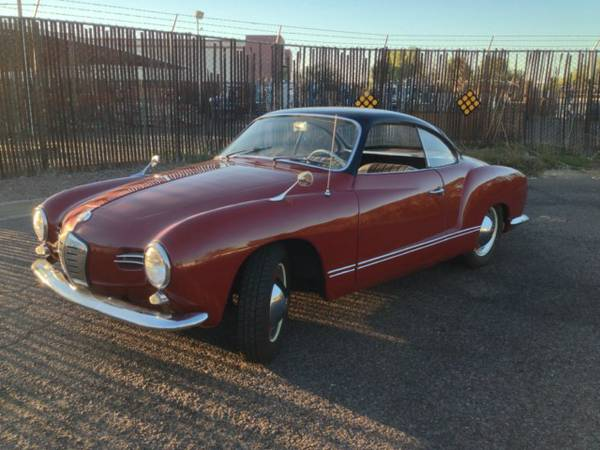 1959 VW Karmann Ghia Lowlight