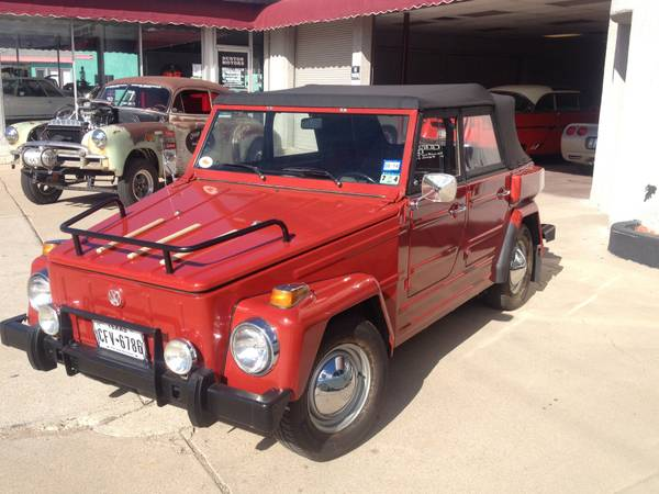 Super Clean 1974 VW Thing for Sale