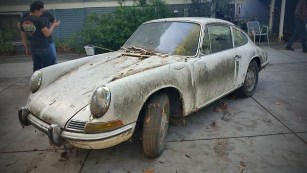 Barn Find Original 1968 Porsche 912